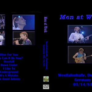 Men At Work 1983-05-14 Westfalenhalle, Dortmund, Germany DVD