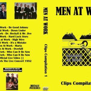 Men At Work Clips Compilation 1 DVD