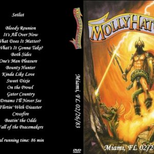 Molly Hatchet 1983-02-26 Miami, FL DVD
