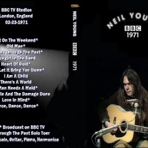 Neil Young 1971-02-23 BBC Studios, London, England DVD