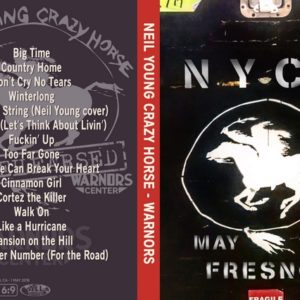 Neil Young & Crazy Horse 2018-05-01 Warnors Theater, Fresno, CA DVD