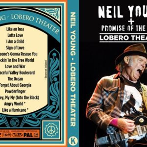 Neil Young Promise of the Real 2018-06-20 Lobero Theater Santa Barbara, CA DVD