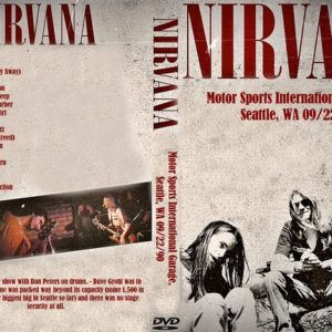 Nirvana 1990-09-22 Motor Sports International Garage, Seattle, WA DVD