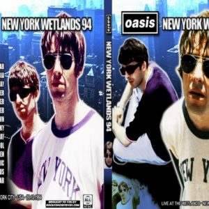 Oasis 1994-10-29 New York Wetlands, New York DVD
