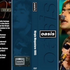 Oasis 1995 Virgin Megastore DVD