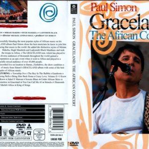 Paul Simon 1987 Graceland The African Concert DVD