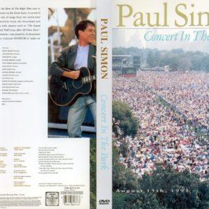 Paul Simon 1991 Concert In The Park New York DVD