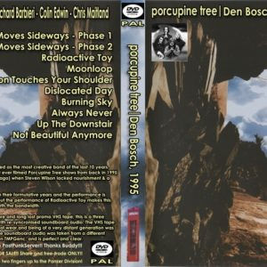 Porcupine Tree 1995-02-10 Den Bosch, Holland DVD