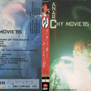 Public Image Limited 1985-01-12 Anarchy Movie, Nagoya, Japan DVD