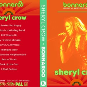 Sheryl Crow 2018-06-08 Bonnaroo Music & Arts Festival DVD