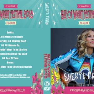 Sheryl Crow 2018 Isle Of Wight Festival DVD