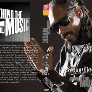 Snoop Dogg VH1 Behind The Music DVD