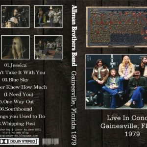 The Allman Brothers Band 1979 Gainesville, FL DVD