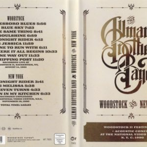 The Allman Brothers Band 1994-08-14 Woodstock, NY & 1990-11-19 MTV Unplugged DVD