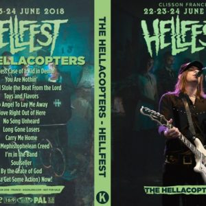 The Hellacopters 2018-06-24 Hellfest, Clisson, France DVD