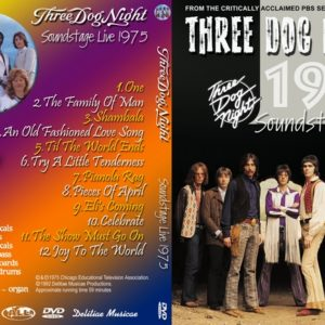Three Dog Night 1975 Soundstage, Chicago, IL DVD