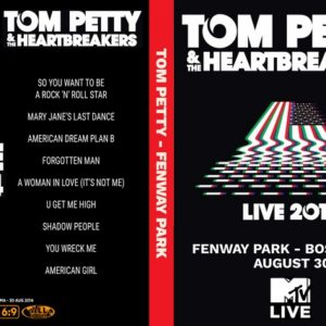 Tom Petty and the Heartbreakers 2014-08-30 Fenway Park, Boston, MA DVD