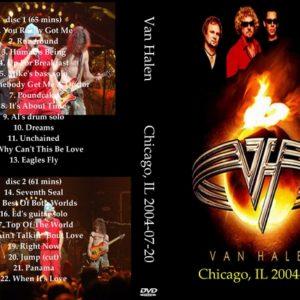 Van Halen 2004-07-20 Chicago, IL 2 DVD