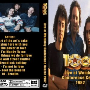 10cc 1982 Wembley Conference Centre, London, UK DVD
