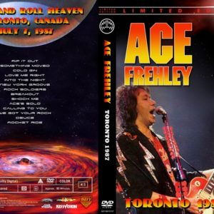 Ace Frehley 1987-07-07 Toronto, Canada DVD