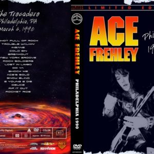Ace Frehley 1990-03-04 Philly, PA DVD