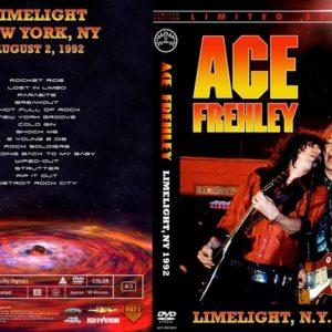 Ace Frehley 1992-08-02 Limelight, NY DVD