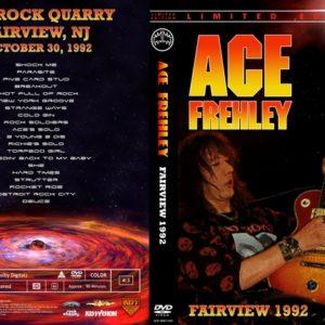 Ace Frehley 1992-10-30 Faifview, NJ DVD