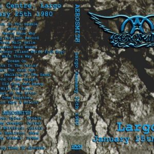 Aerosmith 1980-01-25 Largo, MD DVD