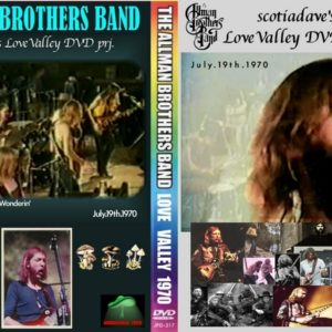 Allman Brothers Band 1970-07-19 Love Valley DVD