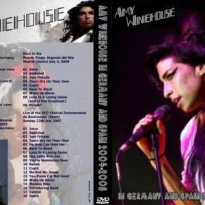 Amy Winehouse 2004-2008 Germany and Spain DVD