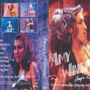 Amy Winehouse 2011-06-18 Last Concert Ever, Belgrade, Serbia DVD