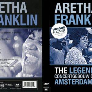 Aretha Franklin 1968 Concertgebouw, Amsterdam, Holland DVD