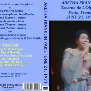 Aretha Franklin 1971-06-21 Paris, France DVD