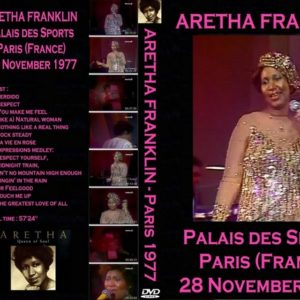 Aretha Franklin 1977-11-28 Palais Des Sports, Paris, France DVD