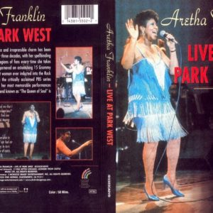 Aretha Franklin 1985 Live At Park West DVD