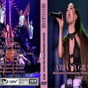 Ariana Grande 2018 Amazon Unboxing Prime Day Event DVD