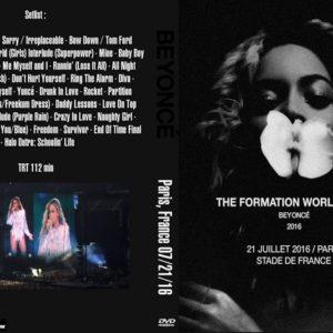 BEYONCE 2016-07-21 The Formation World Tour, Paris, France DVD