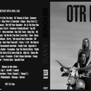 BEYONCE AND JAY-Z 2018 ON THE RUN II DVD