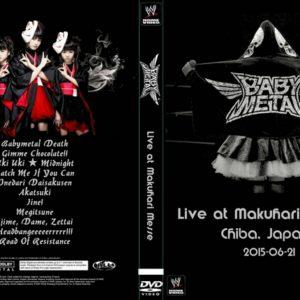 Babymetal 2015-06-21 Chiba, Japan DVD