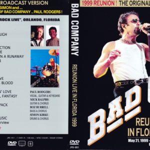 Bad Company 1999-05-22 Hard Rock Live PPV, Orlando, FL DVD