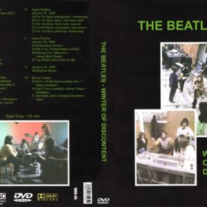 Beatles Winter Of Discontent Let It Be Sessions DVD