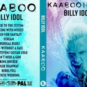 Billy Idol 2018-09-15 KAABOO, Del Mar, CA DVD