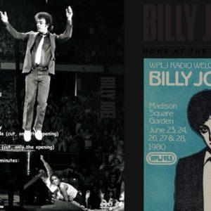 Billy Joel 1980-06-25 Madison Square Garden, New York, NY DVD
