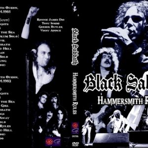 Black Sabbath 1981-01-19+1982-01-02 Hammersmith Odeon, London, England 2 DVD