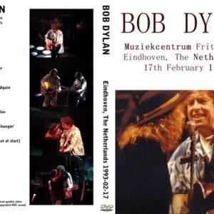 Bob Dylan 1993-02-17 Eindhoven, Holland DVD
