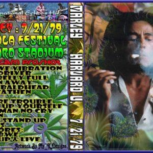 Bob Marley 1979-07-21 Harward Stadium DVD