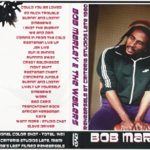 Bob Marley 1980-09-14 Last Rehearsals DVD