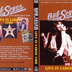 Bob Seger 1980 Largo, MD DVD