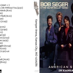 Bob Seger 1986-12-06 Kemper Arena, Kansas City, MO DVD