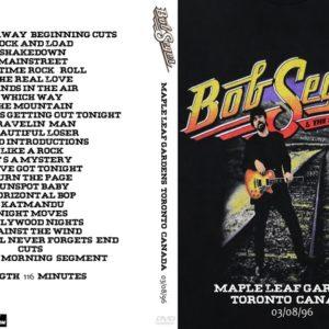 Bob Seger 1996-03-08 Maple Leaf Gardens, Toronto, Canada DVD
